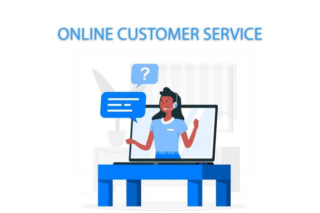 Online customer service