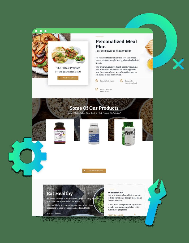 Website Design Forget Templates2