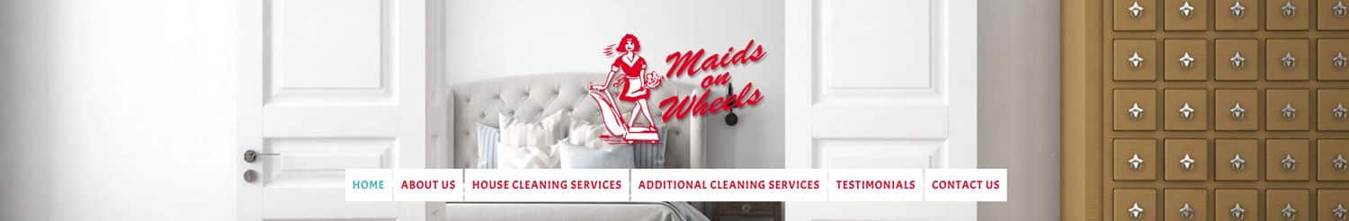Website for Cleaning Services